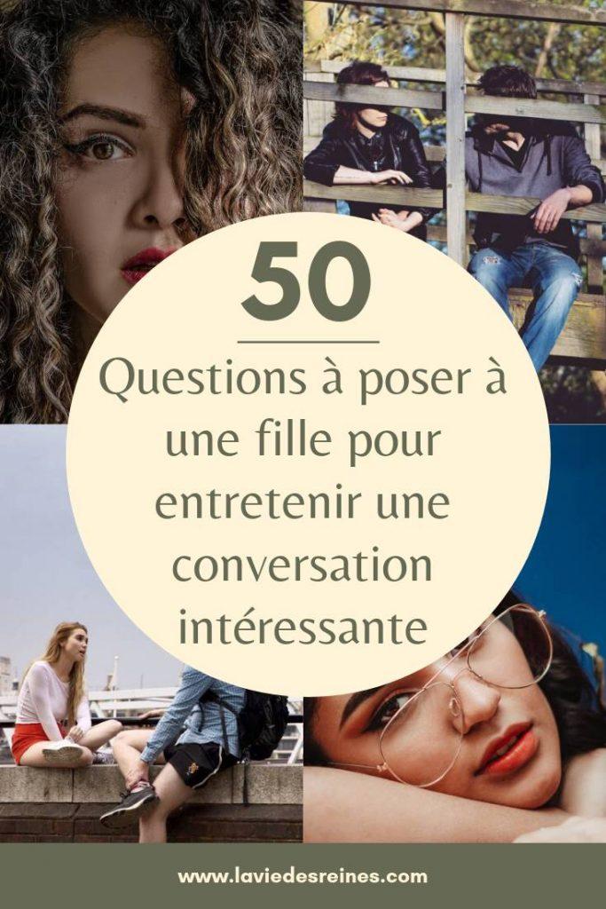 100 questions à poser à une fille avant de dater