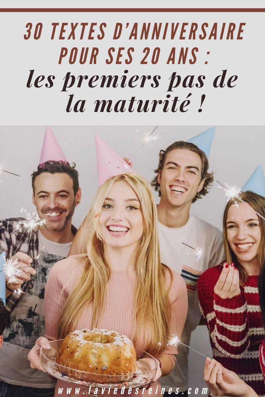 30 Textes D Anniversaire Pour Ses 20 Ans Les Premiers Pas De La Maturite